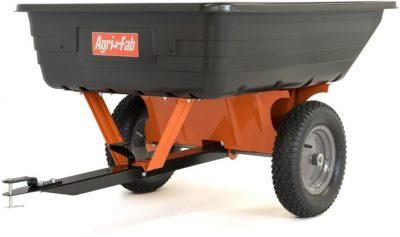 Agri-Fab polipropilēna piekabe dārza traktoriem