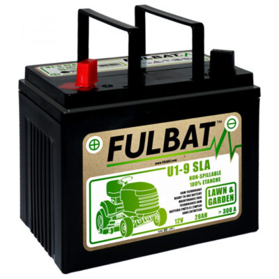 Akumulators dārza traktoram U1-9 SLA 12V 28Ah 300A LH+ FulBat
