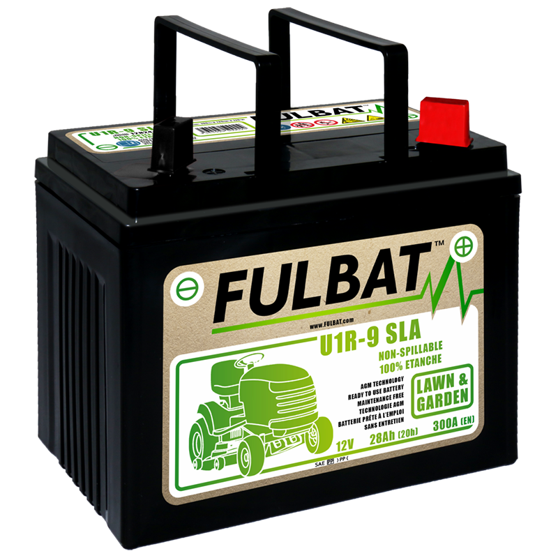 Akumulators dārza traktoram U1R-9 SLA 12V 28Ah 300A RH+ FulBat