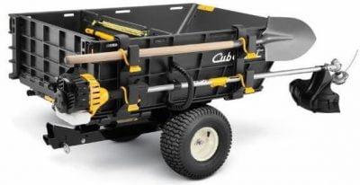 Cub Cadet instrumentu turētājs Cub Cadet dārza traktoru piekabei
