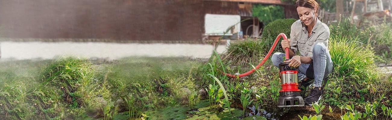 Ūdens sūkņi labas cenas dārza tehnikai līzingā ar piegādi visā Latvijā