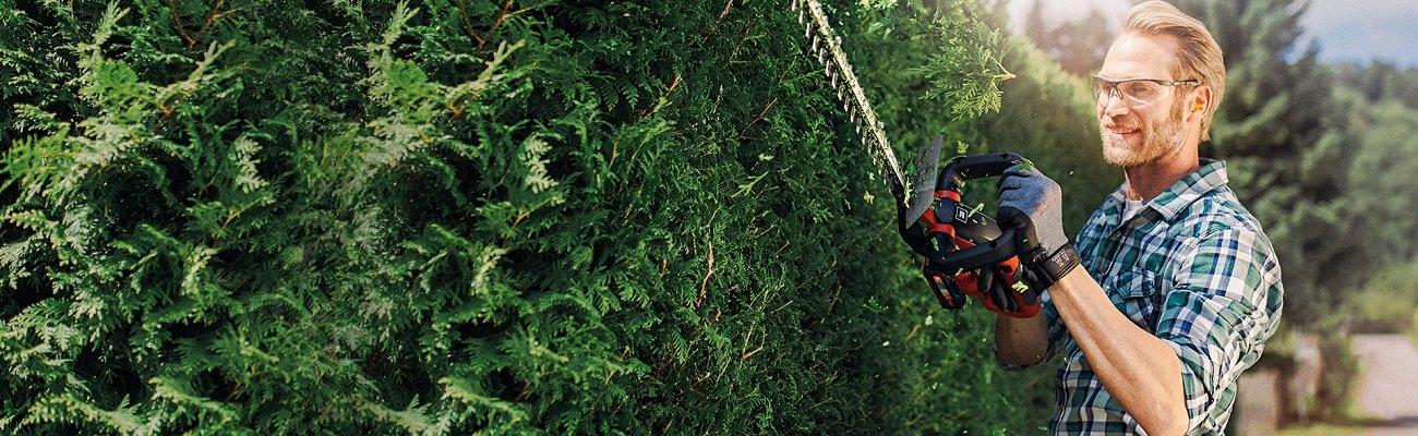 Dzīvžoga šķēres labas cenas dārza tehnikai līzingā ar piegādi visā Latvijā