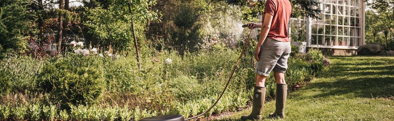 Laistīšanas piederumi labas cenas dārza tehnikai līzingā ar piegādi visā Latvijā