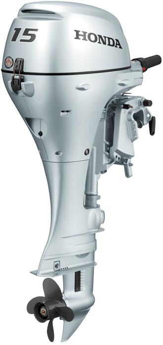 Honda Marine BF15 - BF15DK2SHSU laivas motors