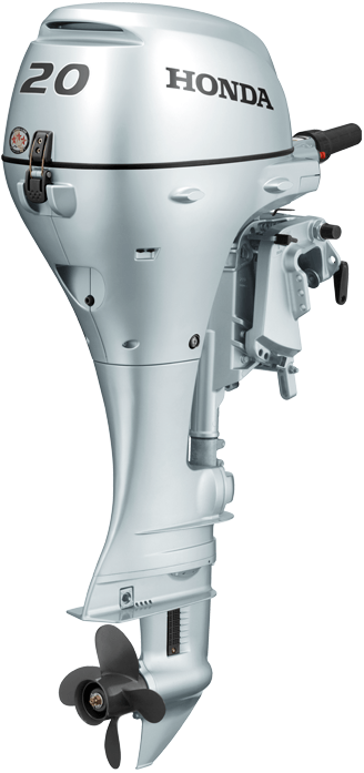 Honda Marine BF20 - BF20DK2LHU laivas motors