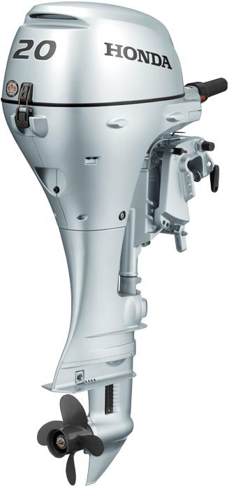 Honda Marine BF20 - BF20DK2SRU laivas motors