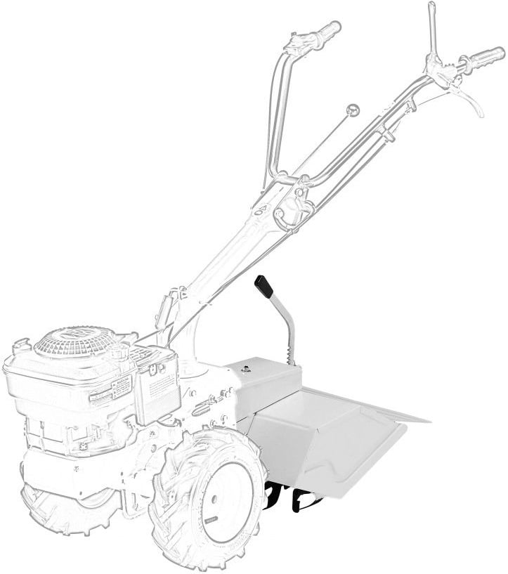Kultivators - augsnes frēze Stiga Silex 95 motoblokam