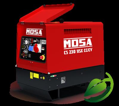 Metināšanas ģenerators Mosa GM 5-200 HBM ar Gaisa dzesēšanu