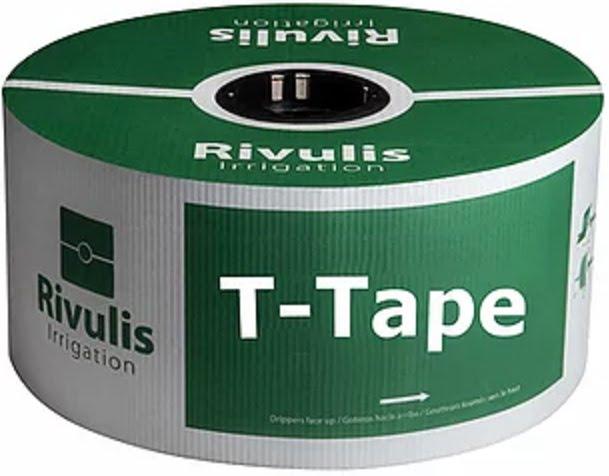 Pilienlaistīšanas lente T-tape - 2300 m - Ø 16 mm - 20 cm - 0,20 mm - 0.5 l/st