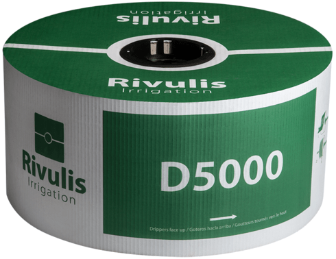 Pilienlaistīšanas lente D5000 - 500m, Ø20 mm, 1 mm, 40 cm, 1,5 l/st