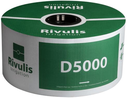 Pilienlaistīšanas lente D5000 - 500m, Ø20 mm, 1 mm, 50 cm, 1,5 l/st