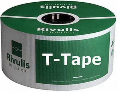 Pilienlaistīšanas lente T-tape - 2300 m - Ø 16 mm - 10 cm - 0,20 mm - 1 l/st