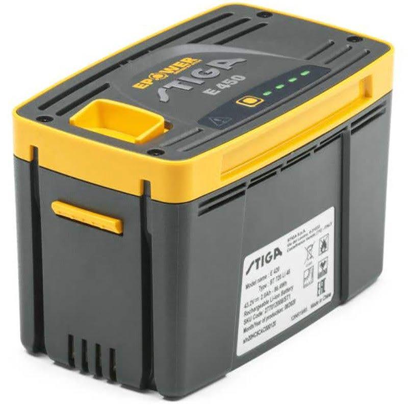 Stiga E 450 akumulators stiga dārza tehnikai
