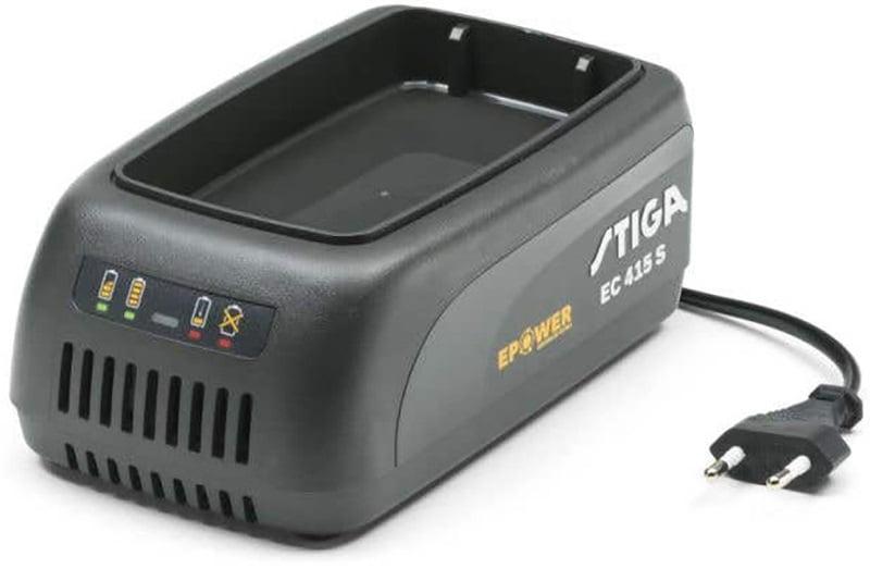 Stiga EC 415 S akumulatoru lādētājs stiga dārza tehnikas akumulatoriem