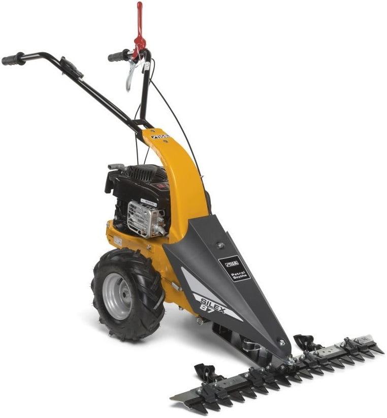 Stiga SILEX 87 B garas zāles pļaujmašīna - motorizkapts - pļavu pļaujmašīna